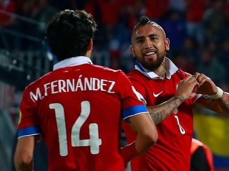Mati Fernández agradece a Arturo Vidal con un simpático apodo