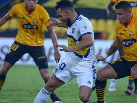 Obligado a ganar, Boca recibe a Barcelona de Guayaquil