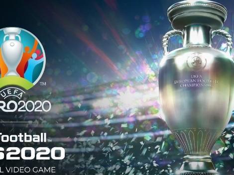 eFootball PES 2021 se actualiza por la Eurocopa