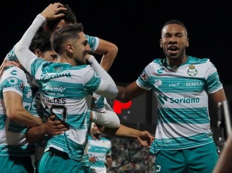 Con asistencia de Valdés: Santos Laguna roza la final de la Liga MX