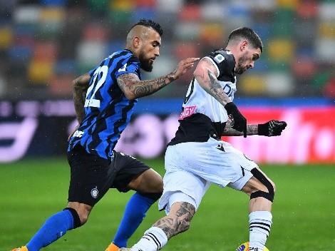 Inter de Milán vs Udinese | Horario, cómo y dónde ver en vivo al equipo de Alexis Sánchez y Arturo Vidal en la fecha final de la Serie A