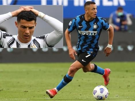 Alexis arrasa con Cristiano y es la sexta maravilla del calcio