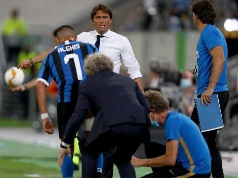 Alexis Sánchez y Arturo Vidal quedan en el aire en Inter