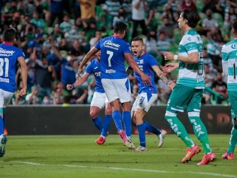 Santos Laguna de los chilenos pierde la primera final ante Cruz Azul