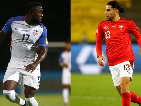 Suiza y Estados Unidos animan un partidazo internacional amistoso