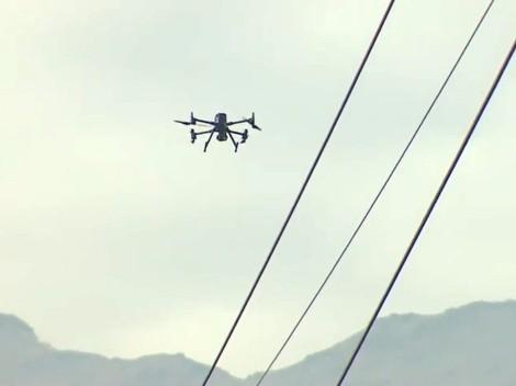 Drone de la Roja derriba a drone intruso en Juan Pinto Durán