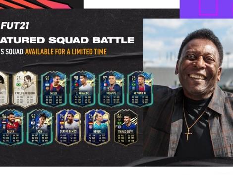 Pelé armó su equipo ideal para FUT de FIFA 21