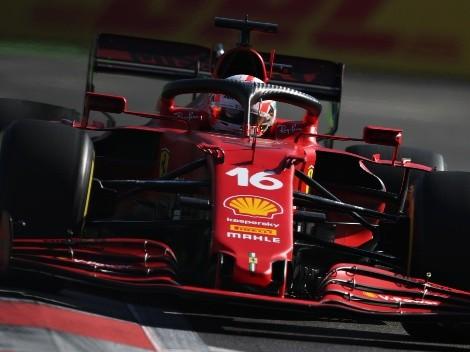 Charles Leclerc se queda con su segunda pole de la temporada en Bakú