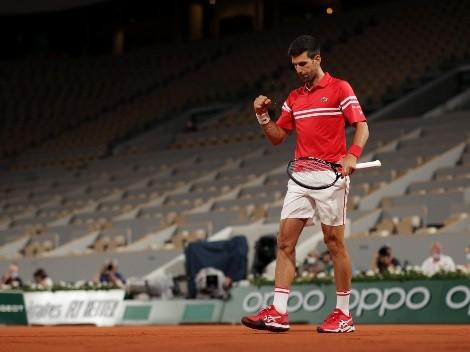 Nole gana con furia y se cita con Rafa en Roland Garros