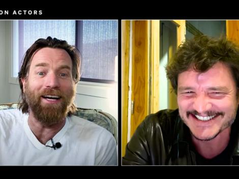 Revisa la conversación de McGregor y Pascal sobre Star Wars