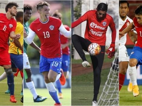 Los 16 debutantes de la Roja en la Copa América 2021