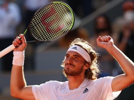Tsitsipas hace historia y jugará la final de Roland Garros