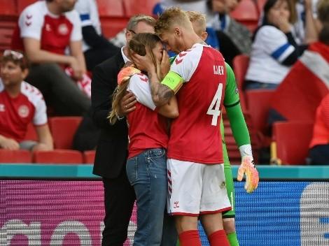Kjaer se lleva los aplausos tras tenso momento por Eriksen