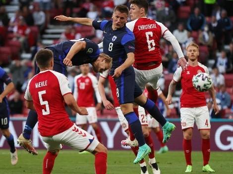 Finlandia da la sorpresa ante Dinamarca con el fútbol en segundo plano