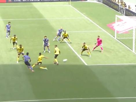Video: Increíble gol con cuatro caños al hilo de Japón