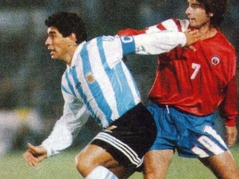 Mega homenaje a Maradona en la previa de Chile-Argentina
