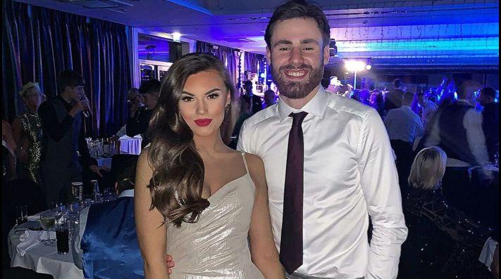 Ben Brereton y su novia ya se hicieron fanáticos de la selección chilena