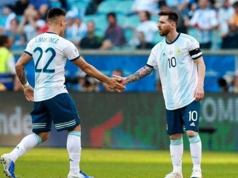 Gorosito declara su amor por Messi y le exige a Lautaro Martínez