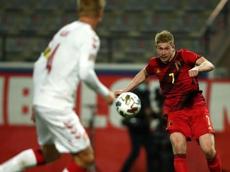 De Bruyne confiesa que no celebró su gol por respeto a Eriksen