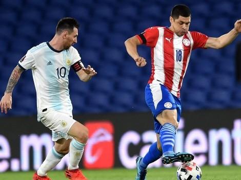 ¿Cuándo juega Argentina vs Paraguay?