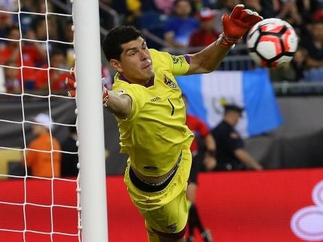 Lampe rompe récord de atajadas en Copa América ante Chile