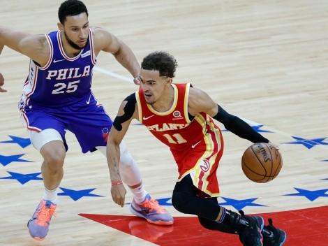 Hawks y 76ers definirán al último clasificado a la final de conferencia de NBA