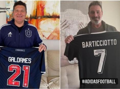 Barti, Mago Jiménez y Galdames padre se lucen con Adidas