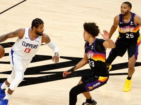 Phoenix Suns y L.A Clippers animan la segunda final de Conferencia en la NBA