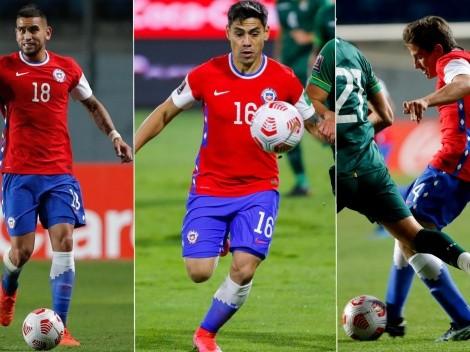 Los chilenos que no han sumado minutos en la Copa América