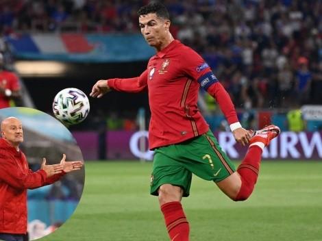 """DT de Hungría se molesta con CR7: """"Puede ser irritante"""""""