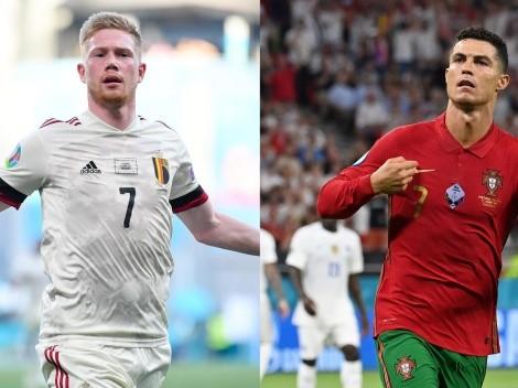 Bélgica y Portugal buscarán avanzar a cuartos de la Eurocopa