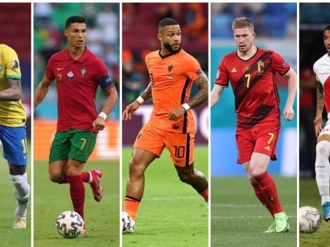 Agenda: Fecha imperdible en Copa América y octavos de la Euro