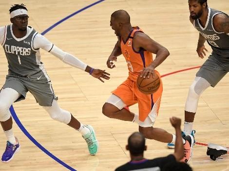 Los Phoenix Suns vencen a los Clippers y rozan final de la NBA