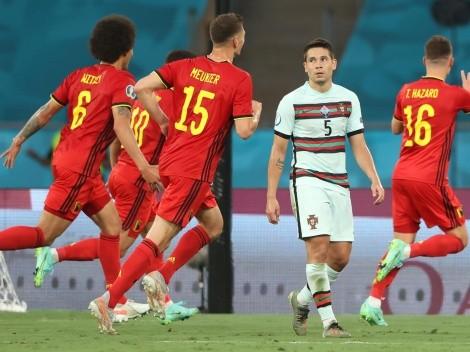 ¡Golazo! Misil del belga Thorgan Hazard a Portugal