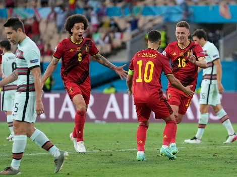 Bélgica vence a Portugal y Cristiano se despide de la Euro