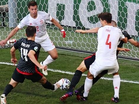 Los agónicos goles de Croacia para forzar la prórroga