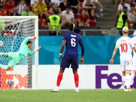 El mega golazo de Pogba en el gran partido de la Euro