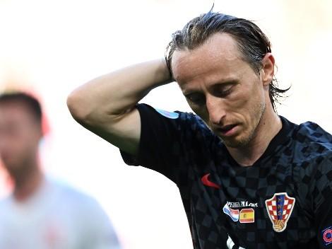El premio de consuelo de Luka Modric en la Eurocopa