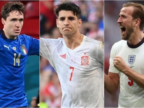 Llaves y programación de los cuartos de final de la Euro 2020
