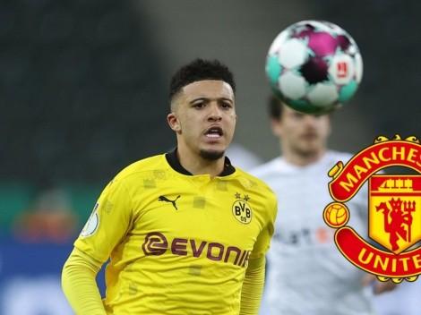 Manchester United logra acuerdo por Jadon Sancho