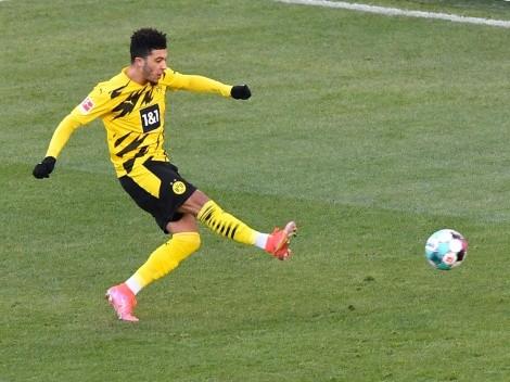 Los números extraterrestres de Sancho en el Dortmund