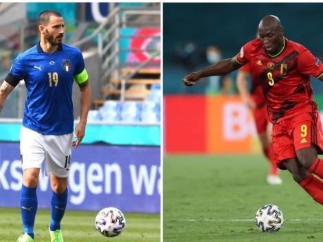 Horario: Bélgica e Italia animan duelo de candidatos en la Euro