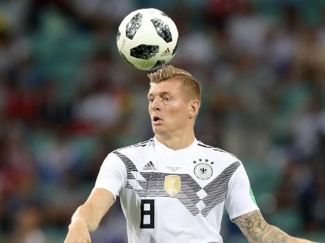 Kroos anuncia su retiro de la selección de Alemania