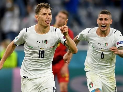 ¡Saca chapa! Italia baja a Bélgica y avanza a semis de Eurocopa