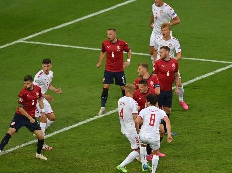 Dinamarca arranca con todo y le saca ventaja a República Checa