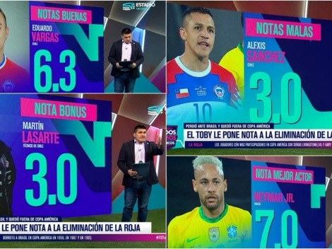 Toby Vega le pone un 3,0 a Alexis y Lasarte contra Brasil