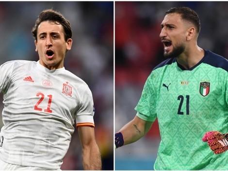 El favorito para Italia vs España en la Euro 2020