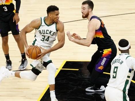 Phoenix Suns y Milwaukee Bucks animan la final de la NBA