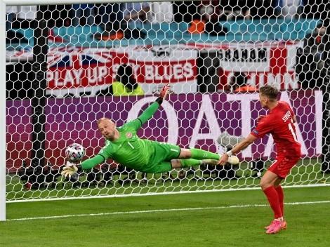 UEFA acusa a Inglaterra por disturbios contra Dinamarca