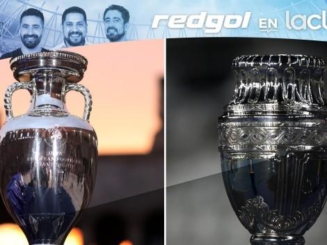 Euro, Copa América y Copa Chile en RedGol en La Clave